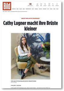 Caty Lugener wird von der Plastischen Chirurgin in München, Dr. Med. Christina Günter an der Brust operiert